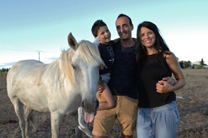 clos de camargue photo de famille mini